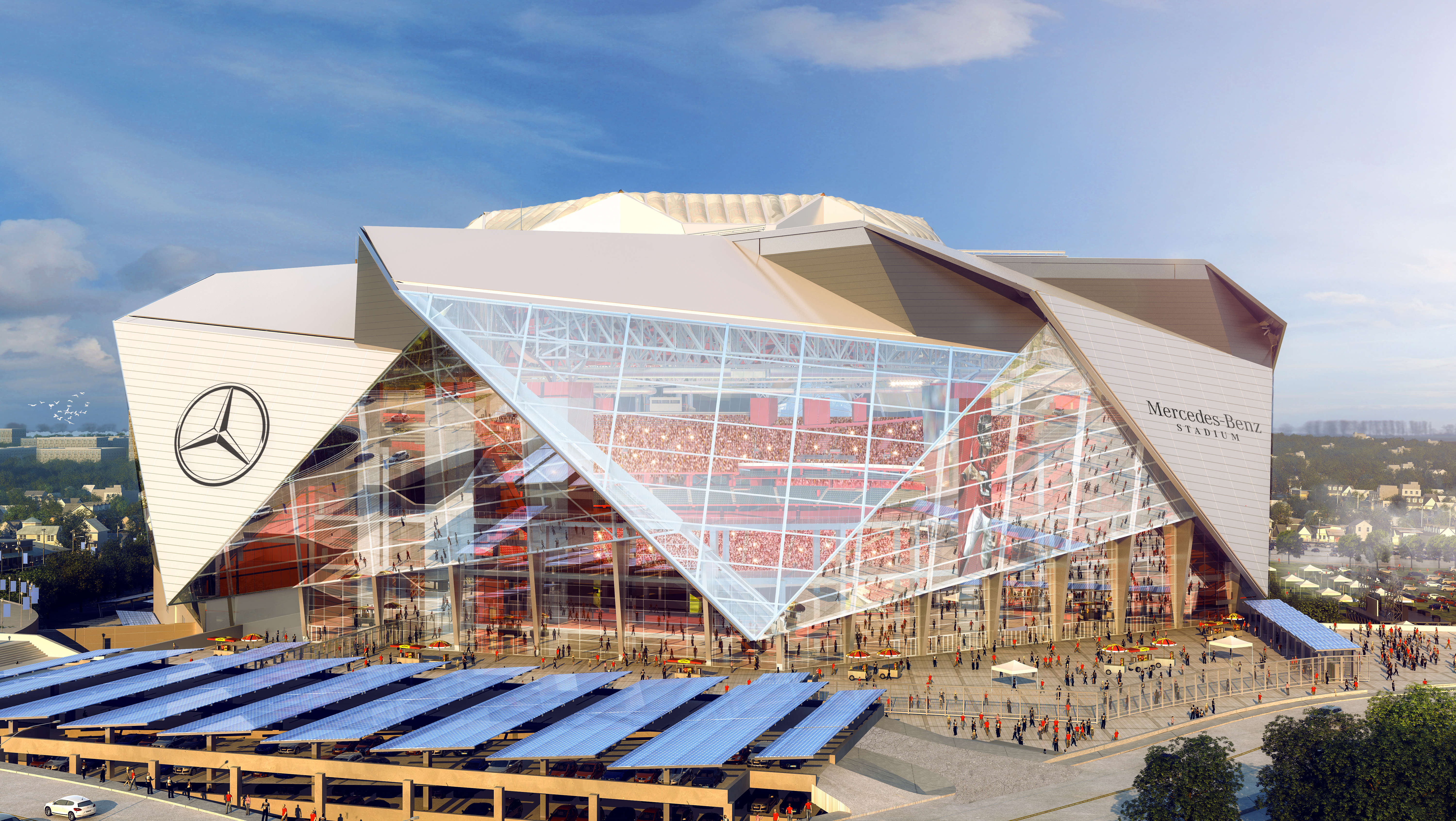 Mercedes Benz Signs Stadium Naming Rights Agreement In Atlanta