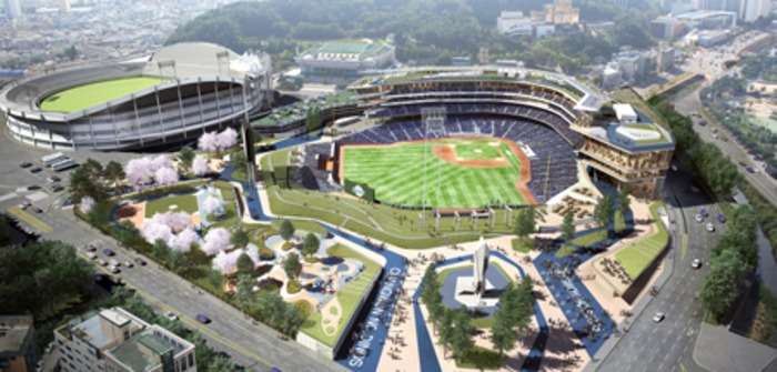 Populous baseball south korea