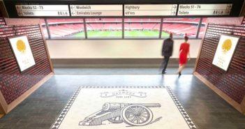 Arsenal executive hospitality space emirates