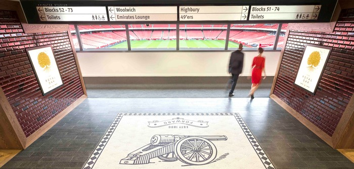 Arsenal executive hospitality space emirates