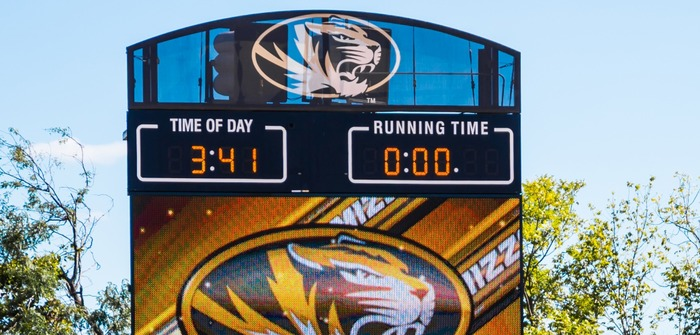 Audrey J Walton Stadium scores a new display