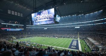 Dallas Cowboys install Musco's LED lighting system at AT&T Stadium
