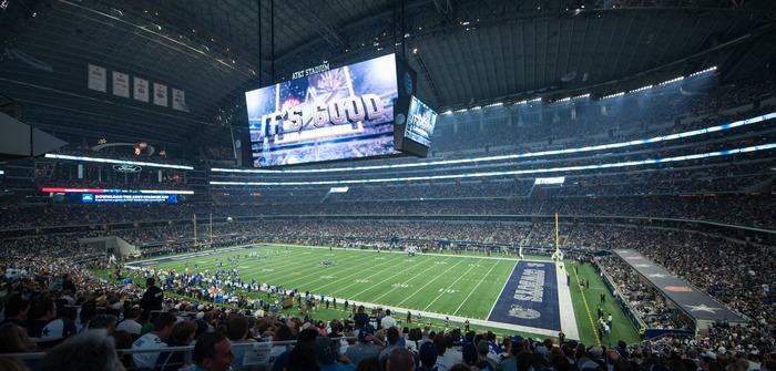 Dallas Cowboys install Musco's LED lighting system at AT&T Stadium