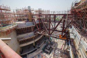 khalifa stadium qatar completion