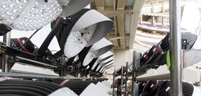 US Bank Stadium installs high-performance lighting system