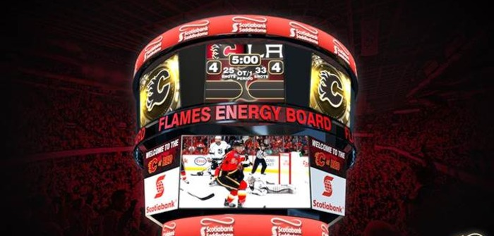 Calgary Flames partner with Daktronics