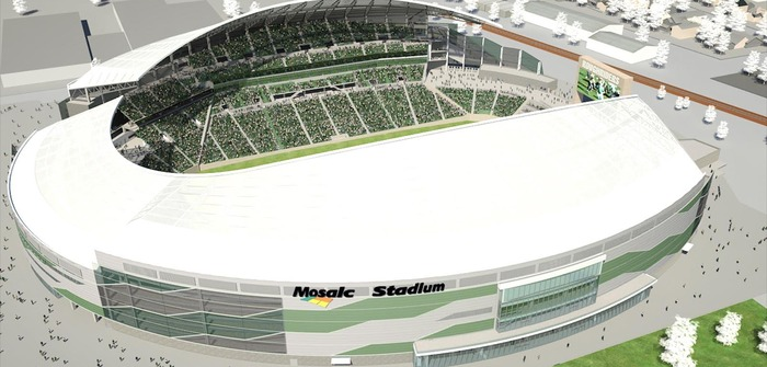 FabriTec Structures wins bid for Mosaic Stadium membrane roof