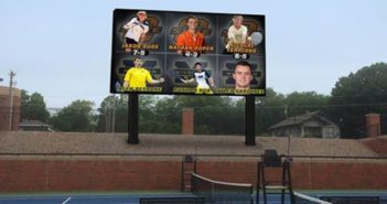 Daktronics improves tennis experience at Oklahoma State University