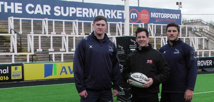 Motorpoint signs naming rights deal with Newcastle Falcons
