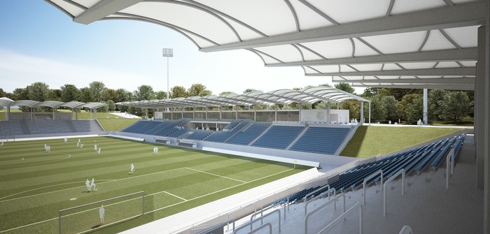 von Gerkan, Marg and Partners commissioned for conversion and refurbishment of Ludwigspark Stadium