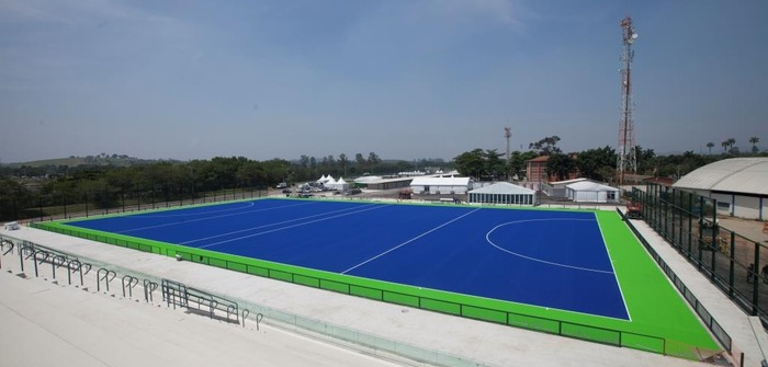 Hockey turf technology tested ahead of Rio 2016
