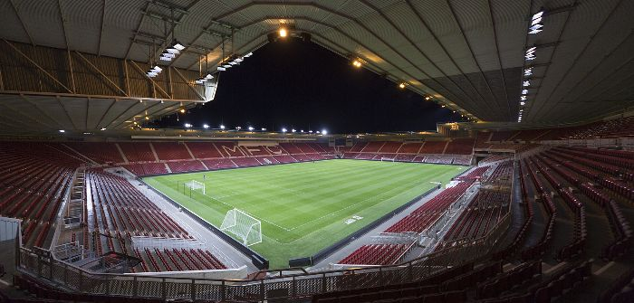 Middlesbrough FC Musco LED lighting