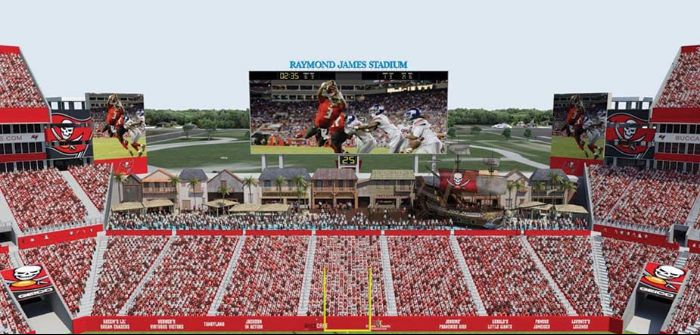 Daktronics Raymond James Stadium