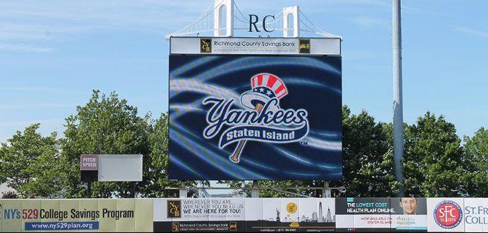 Staten Island Yankees Daktronics