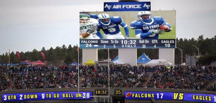 Daktronics US Air Force Academy