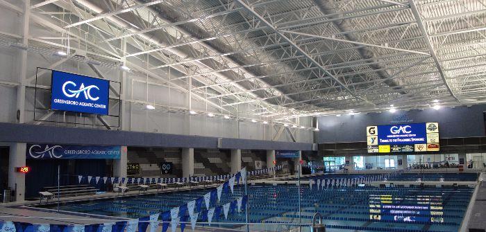 Greensboro Coliseum Complex Aquatics Center