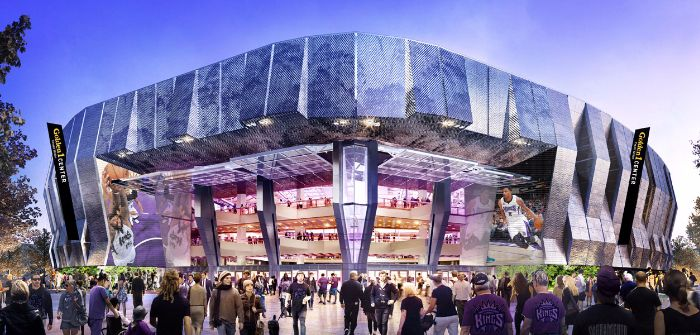 Sacramento Kings new arena LEED Platinum designation