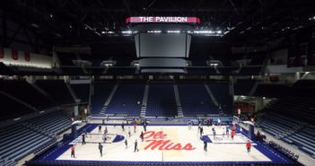 The Pavilion opens at Ole Miss
