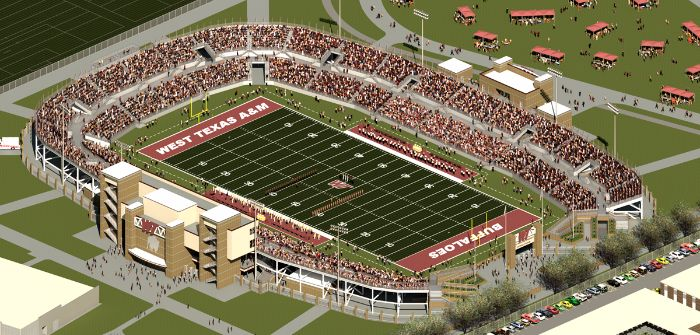 West Texas A&M stadium
