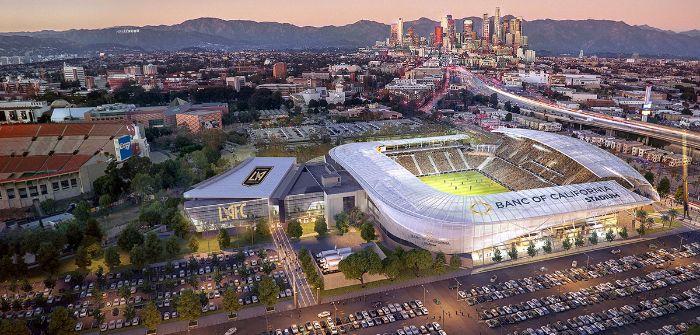 LAFC's Banc of California soccer stadium