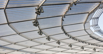 Largest polycarbonate roof