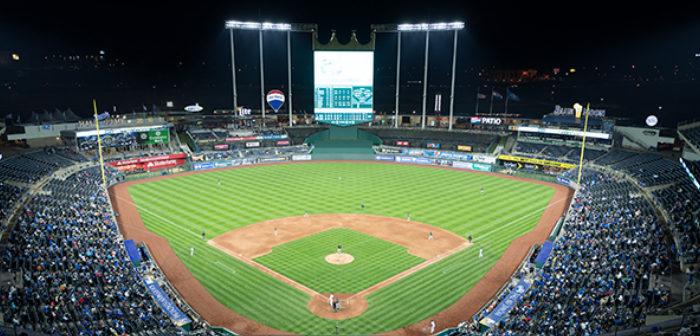 Kansas City Royals' Kauffman Stadium