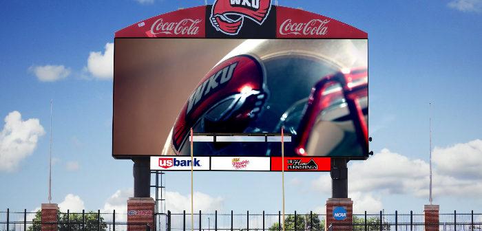 Western Kentucky University Video board