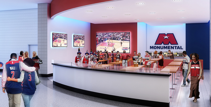 Capital One Arena renovation