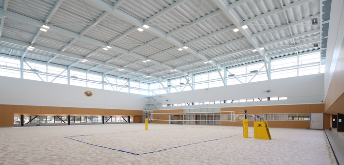 Toyota volleyball facility