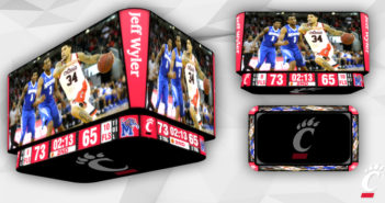 Fifth Third Arena video displays