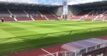 Heart of Midlothian FC pitch