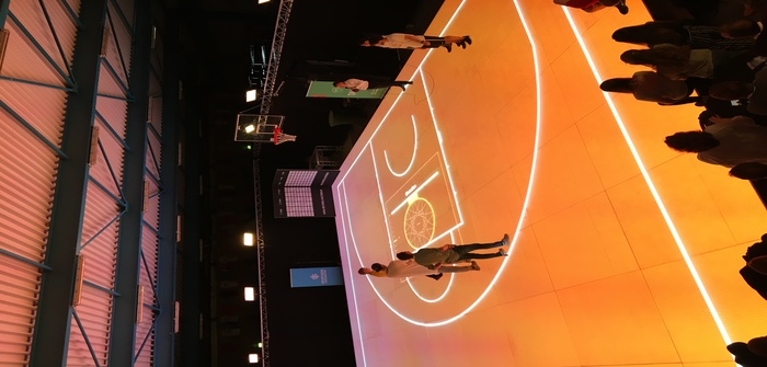Transforming sport with playing surfaces made of glass