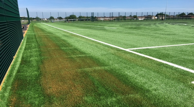 Synthetic turf protection