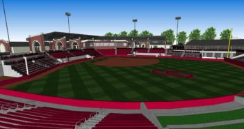 University of Oklahoma softball stadium