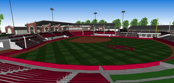 University of Oklahoma softball stadium