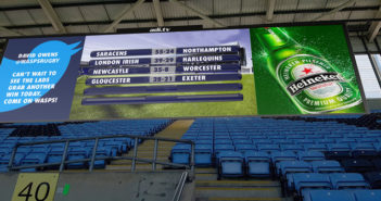 Ricoh Arena screen
