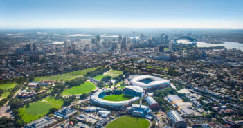 Sydney Football Stadium design details and pictures