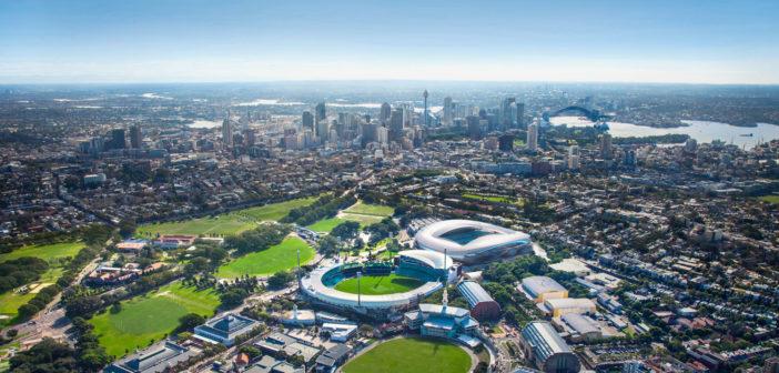 Sydney Football Stadium design details and pictures
