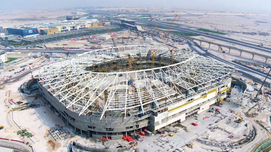 Qatar 2022 New Aerial Pictures Reveal Fifa World Cup Stadium