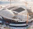 Qatar 2022 World Cup stadium progress shown in aerial pictures