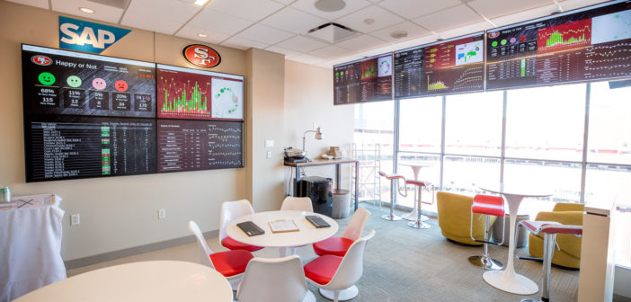 49ers launch world-first real-time analytics technology at Levi's Stadium