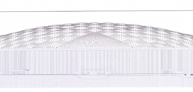 Syracuse University's new Carrier Dome roof design plans
