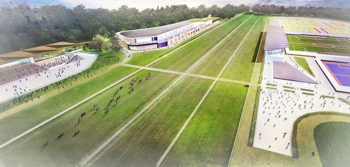Racecourse design by LK2