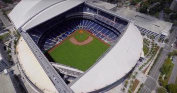 Stadium tour of University of Kentucky's new baseball facility