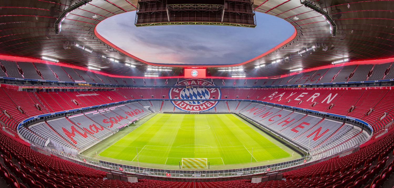 FC Bayern Munich installs modern lighting solution at Allianz Arena   Stadia Magazine