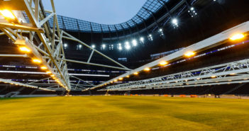 Tottenham Hotspur Stadium introduces world-first integrated pitch grow light