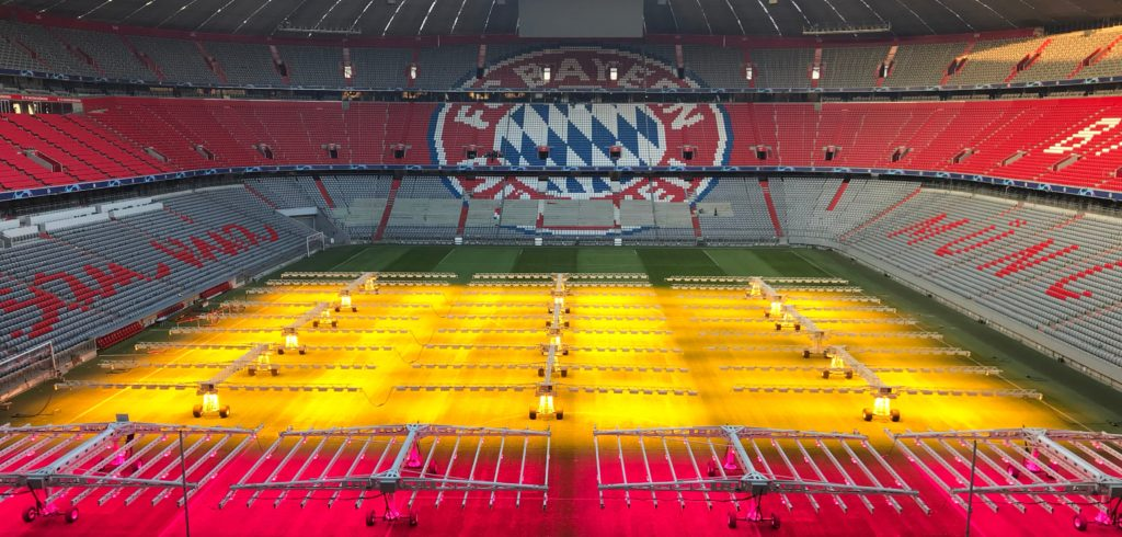 Allianz Arena First To Use Led Lights To Grow Turf