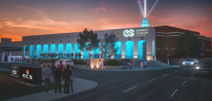 New images unveiled ahead of America's largest e-sports stadium opening