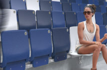 Meis unveils world's first stadium seat made from recycled ocean plastic