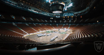 Turf installation time-lapse at Rogers Arena